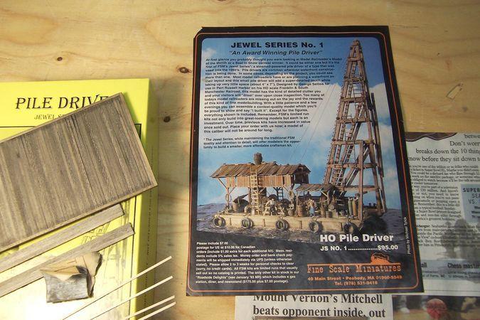 Railroad Line Forums - FSM Pile Driver construction thread