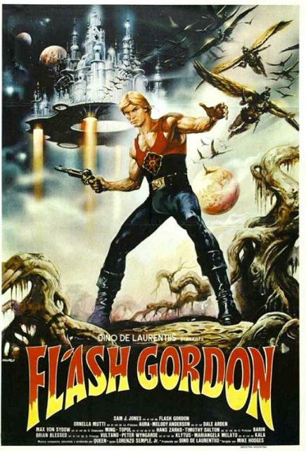 Flash Gordon ala Dino DeLaurentiis. Giada's Grandad rocked this movie with the soundtrack by Queen.