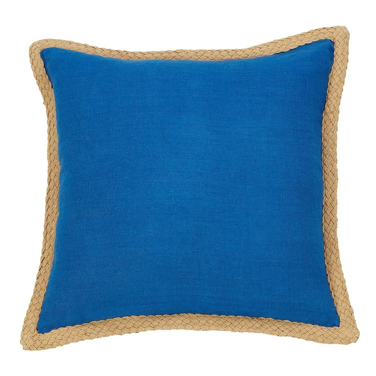 Blue Mornington Linen Cushion - IDC - on Temple & Webster today.