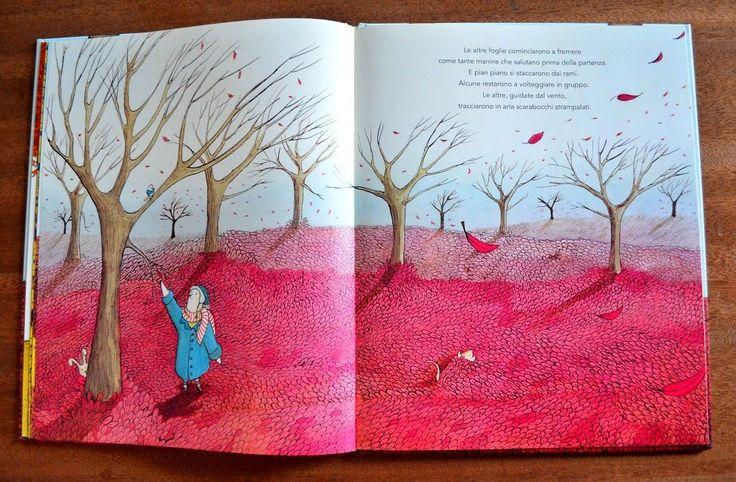 Il domatore di foglie, Pina Irace, Maria Moya, Zoolibri 2014 Un libro sull'autunno e sul distacco spontaneo.