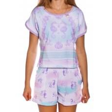 Pijama Cropped Acqua
