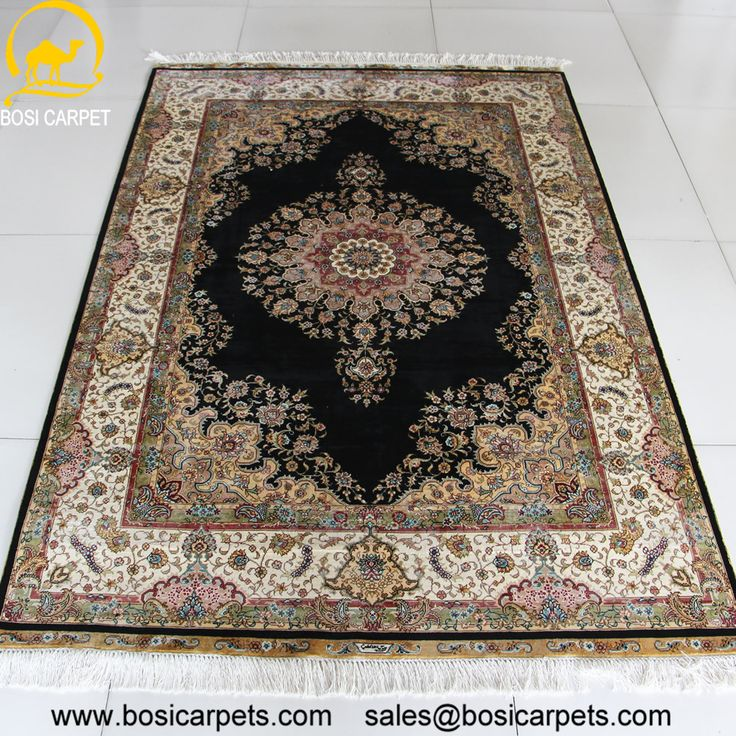 Hand knotted silk rug # Rug No.: P0307 # Quality: 230L (368kpsi) # Size: 4x6ft (122x183cm) # Material: 100% Silk # wholesale Price: $1080/piece # If you have any interests, please email to sales@bosicarpets.com             Hand-madecarpet#orienatlrug#oldrug#Kashmirrug#Chinacarpet#Iraniancarpet#boteh#HeratiGul# Isfahan#Tabriz#Qum#Nain#Kashan#Kerman#Bijar#Sarouk#Caucasian#antiquecarpet#bosicarpet