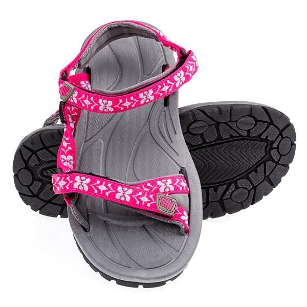 Ron Jon Youth Velcro Sandal - Fuschia - Kids Footwear
