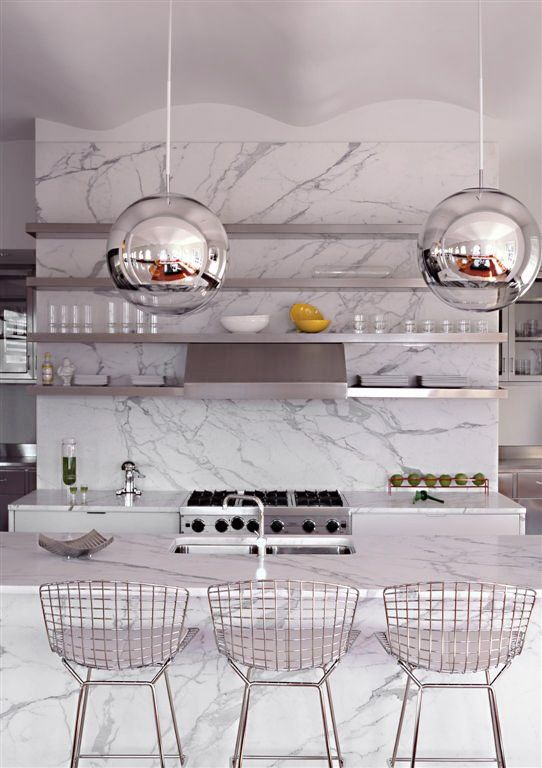 Tribeca Loft -- marble #livingroomchairs  #diningroomchairs #chairdesign upholstered dining chairs, silver chair, upholstered chairs | See more at http://modernchairs.eu
