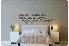 mooi gedicht voor boven het bed