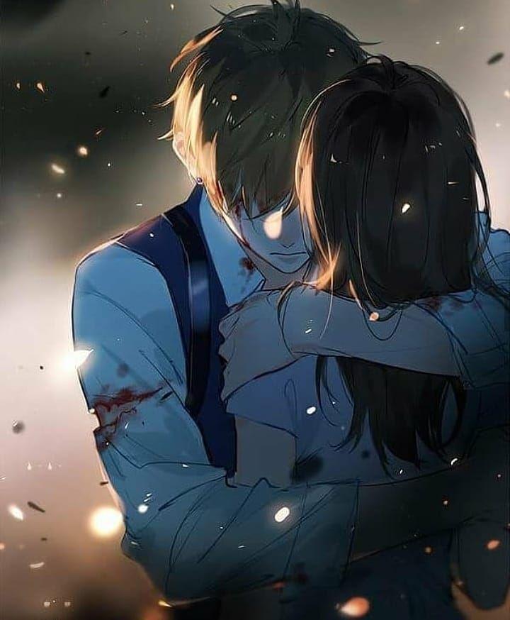 Anime couple Anime couple love Anime couple hot #…