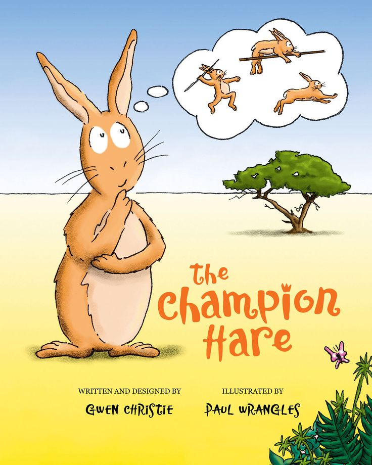 A FUN, SPORTS-THEMED PICTURE BOOK When a hopeful young hare enters an animal sports contest he soon finds himself racing a cheetah and competing in the long-jump against a gorilla. It's not easy becoming a champion, but with help from a clever parrot and cheered on by a family of meerkats he perseveres and eventually discovers he's won the decathlon and is the champion athlete!
