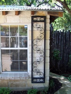 iron shutters | Evans Weaver - Wrought Iron Shutters