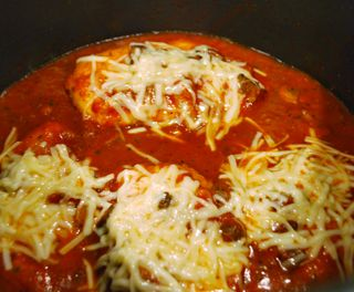 Chicken Parmigiana Italia {Electric Pressure Cooker Recipe} | Peggy Under Pressure