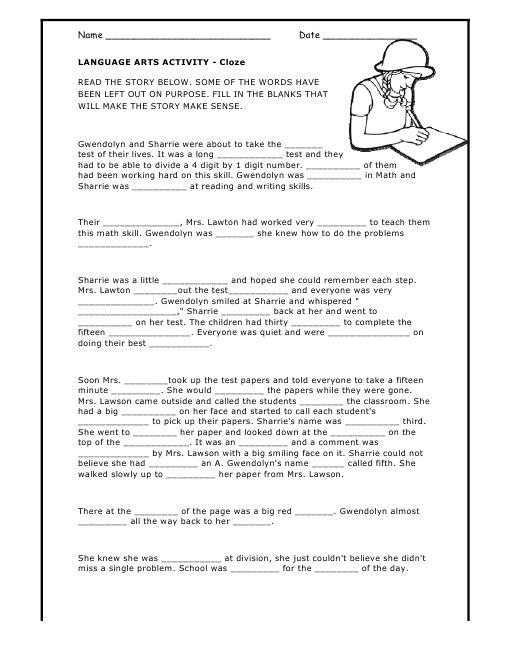 Mad Lib printable   Work   Worksheets, Language arts, Mad libs