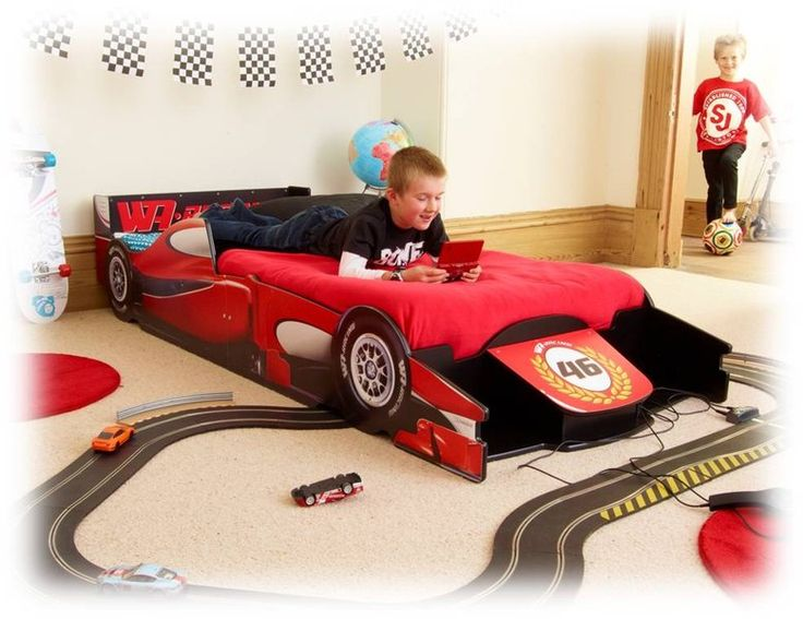 Lasten sänky, Racing