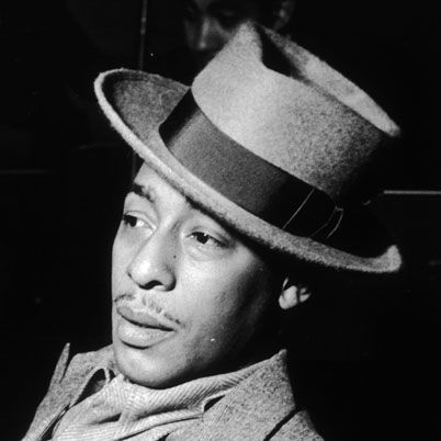 Johnny Hodges was born July 25, 1906 in Cambridge, Massachusetts. He took up the soprano saxophone at 14. He worked in Boston and New York during the mid-1920s, playing in bands led by Lloyd Scott, Chick Webb, Bobby Sawyer, Luckey Roberts, and Bechet. He joined Duke Ellington's orchestra in 1928 and was the band's most-featured soloist for the next four decades. In 1951 he formed his own combo.