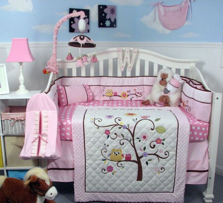 Best 25+ Pink crib bedding ideas on Pinterest | Pink crib, Rustic ... : crib comforters and quilts - Adamdwight.com