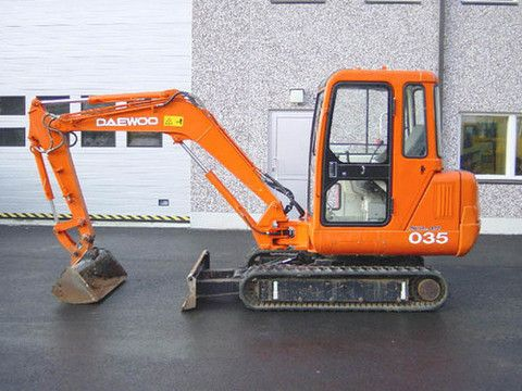 Click On The Above Picture To Download Doosan Daewoo Solar 035 Mini Excavator Parts Manual