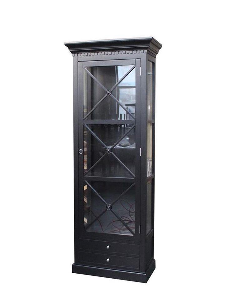 #Repost @classicliving  Bordeaux Cross Cabinet 80 cm (Sort)  #classicliving  Se mer på www.classicliving.no