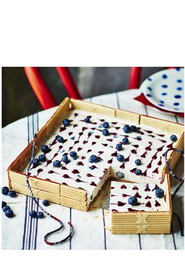 Cheesecake petits coeur à la myrtille avec Paille d'Or®