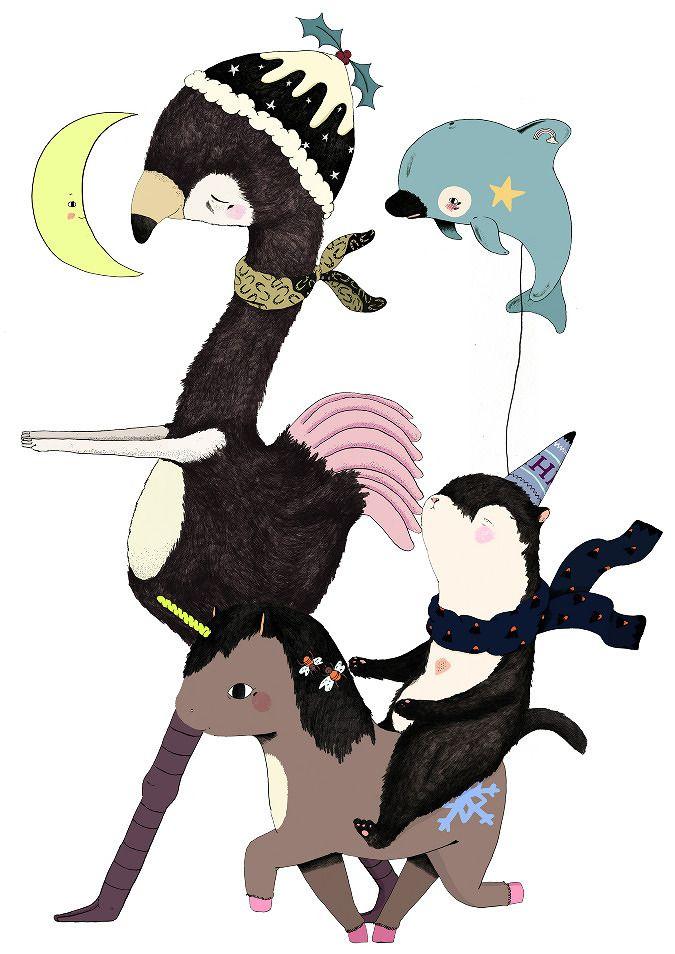 Hermes Christmas 2012 - Julia Pott
