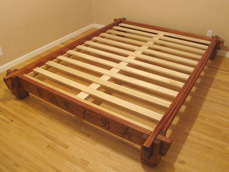 78 ideas about woodworking bed on pinterest bed plans king bed headboard and simple bed frame - Japanese platform bed frames ...