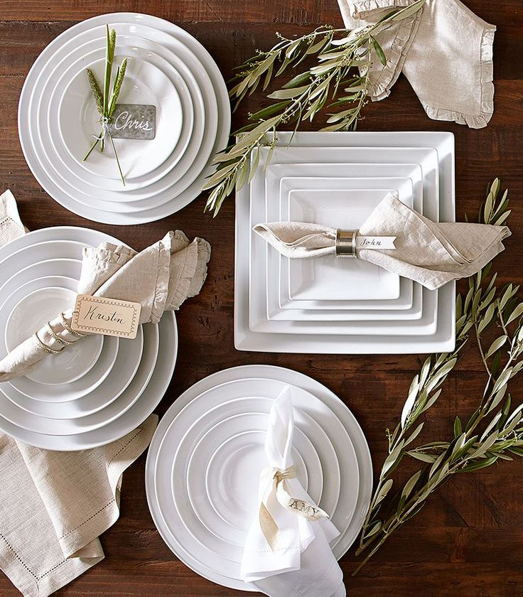 Our Top Tips for Choosing White Dinnerware & 30 best China u0026 Crockery images on Pinterest | Dish sets Kitchen ...