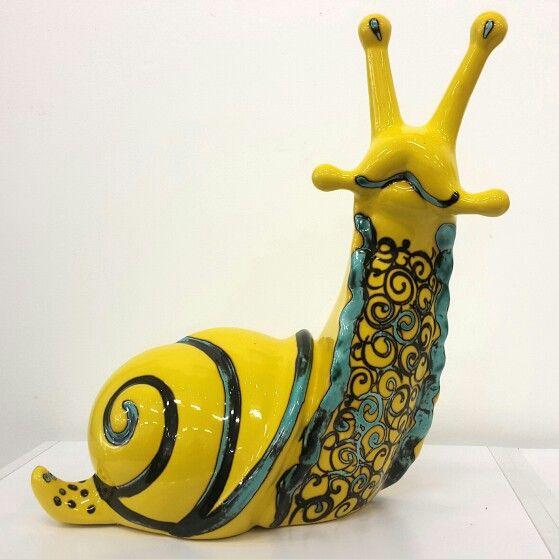 Sarah-May Baxter Ceramic yellow snail