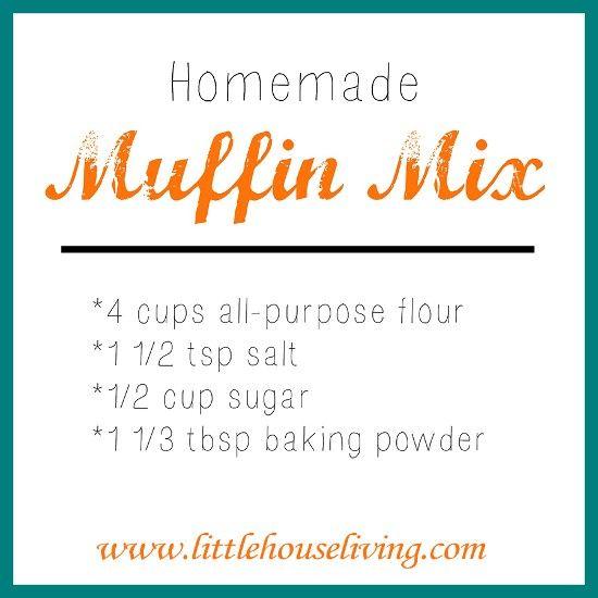 Homemade Muffin Mix