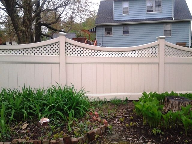 Vinyl Lattice Fence Topper Woodworking Projects Amp Plans