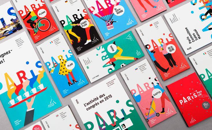 Paris Convention and Visitors Bureau - Brand design on Behance