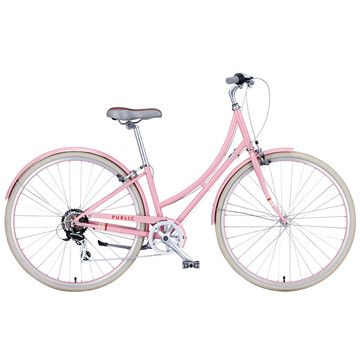 Pink bike for me.
