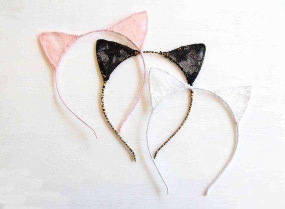Lace Cat Ears by Ulous