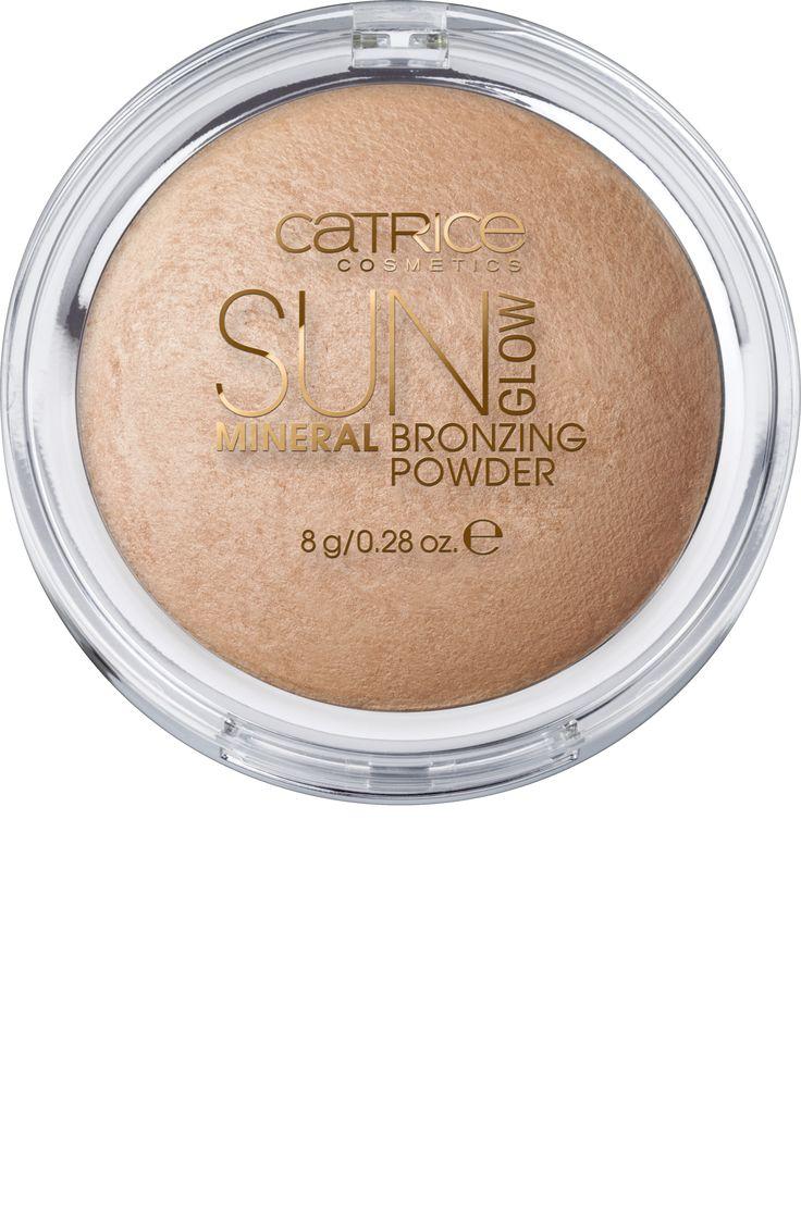 Sun Glow Mineral Bronzing Powder Golden Light 010
