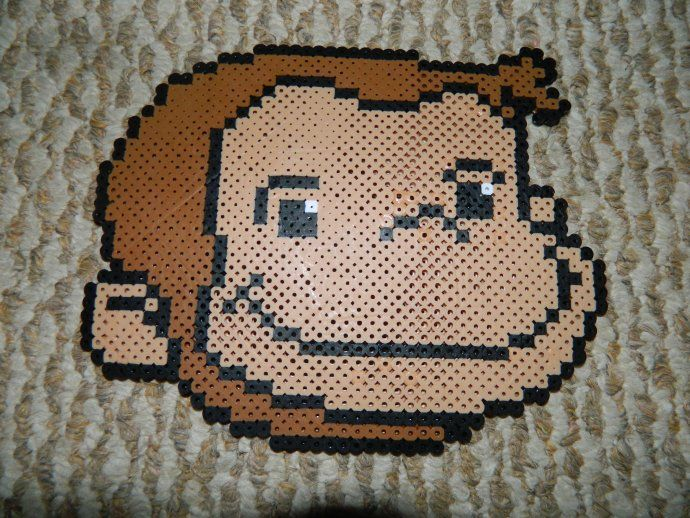 Curious George by dysenterykrissy - Kandi Photos on Kandi Patterns
