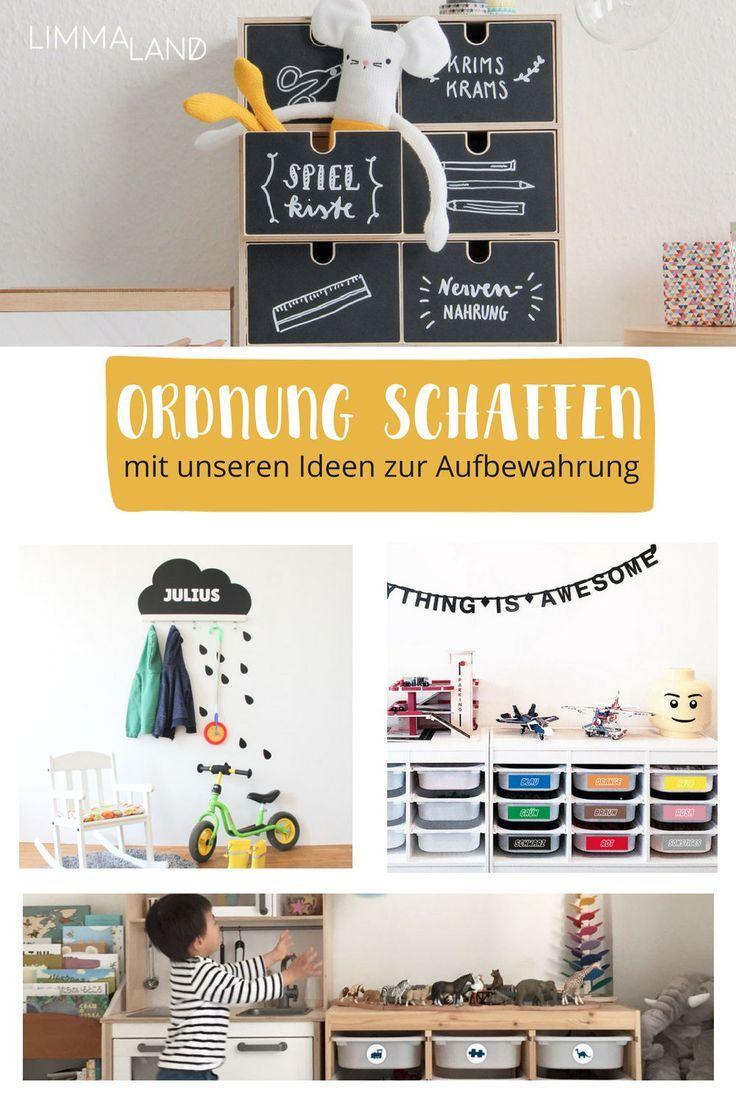 Mehr Ordnung im Kinderzimmer mit praktischen Klebefolien für