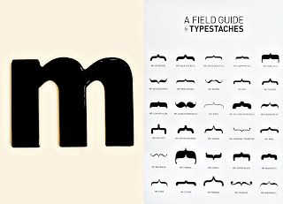 Different types of mustache, by style