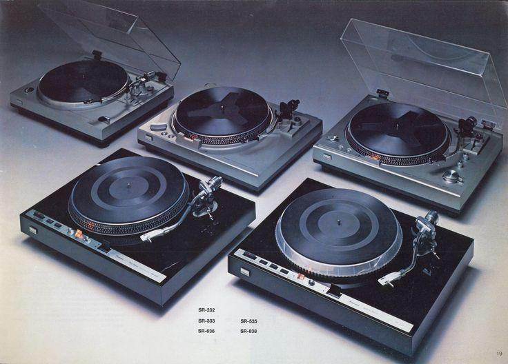 Sansui 1978 Turntables