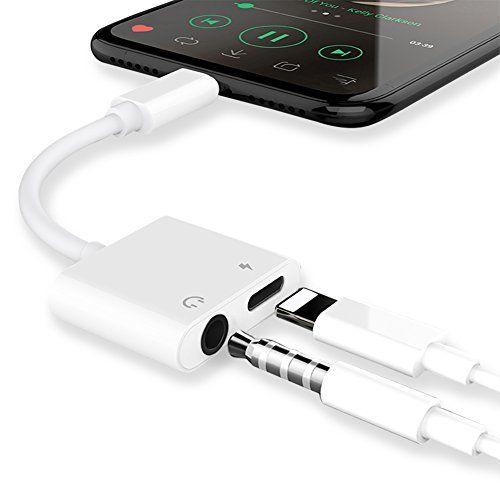 Lightning Jack Casque Adaptateur Chargeur Pour Iphone X 8 8 Plus Iphone 7 7 Plus Earphone Adapter Casque Audio Aux Et Ch Iphone Cases Iphone Phone Accessories
