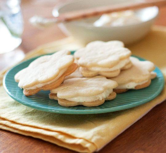 Lemon Sandwich Cookies with Triple Citrus Filling