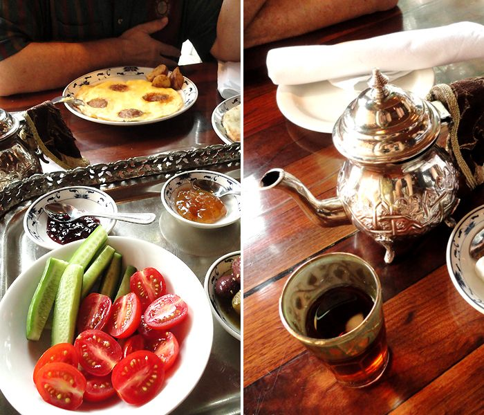 Middle Eastern brunch at Rumi, located in Montréal's picturesque Outremont neighborhood.