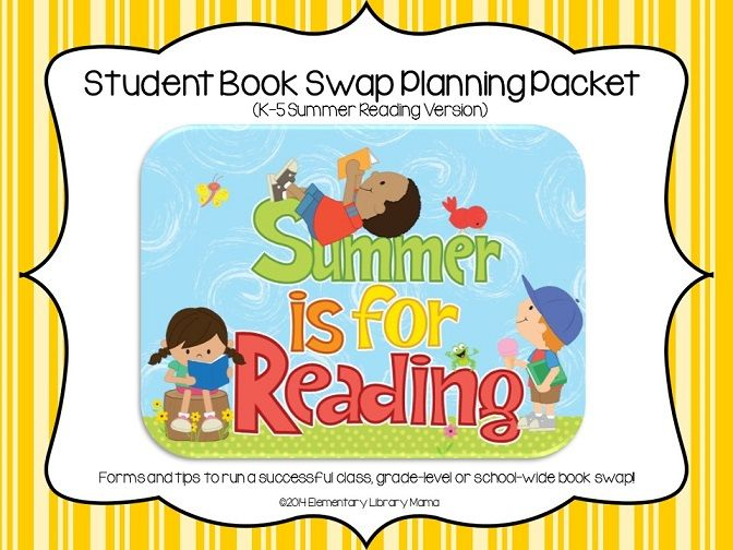 I am a K-5 Library Media Specialist and have been running successful school-wide books swaps for several years now.  My students look forward to having our annual spring book swap as the school year begins to wind down and we start preparing for summer reading.  $