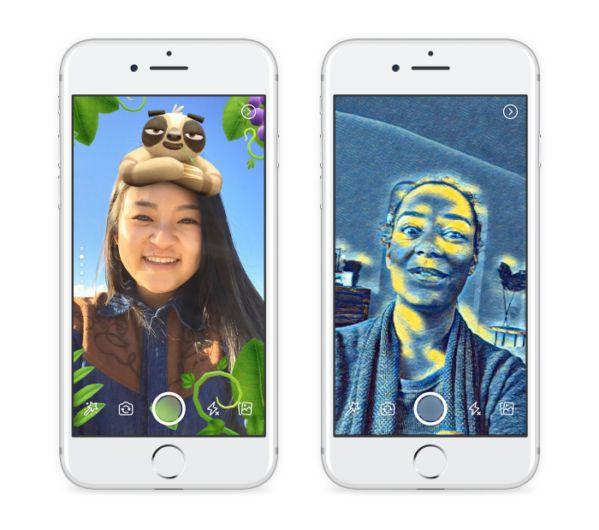 Facebook kamerası artık çok daha yetenekli. iOS ve Android uygulaması içinde bulunan kamerayı denediğiniz zaman maskeler, çerçevelerve hareketli filtrelerden oluşan onlarca farklı yeni efekt ile karşılaşacaksınız. Evet, hepinizin Snapchat'den aşina olduğu bu filtreler ve daha fazlası artık...   http://havari.co/facebook-kamerasina-yeni-ozellikler-ve-2-yeni-paylasim-yontemi-sosyal-medya/