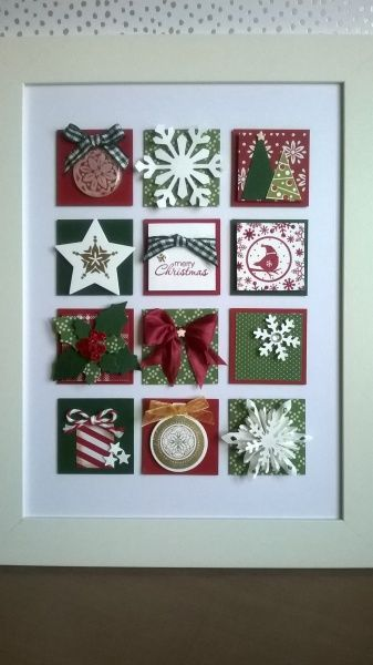 Christmas picture Stampin' Up!