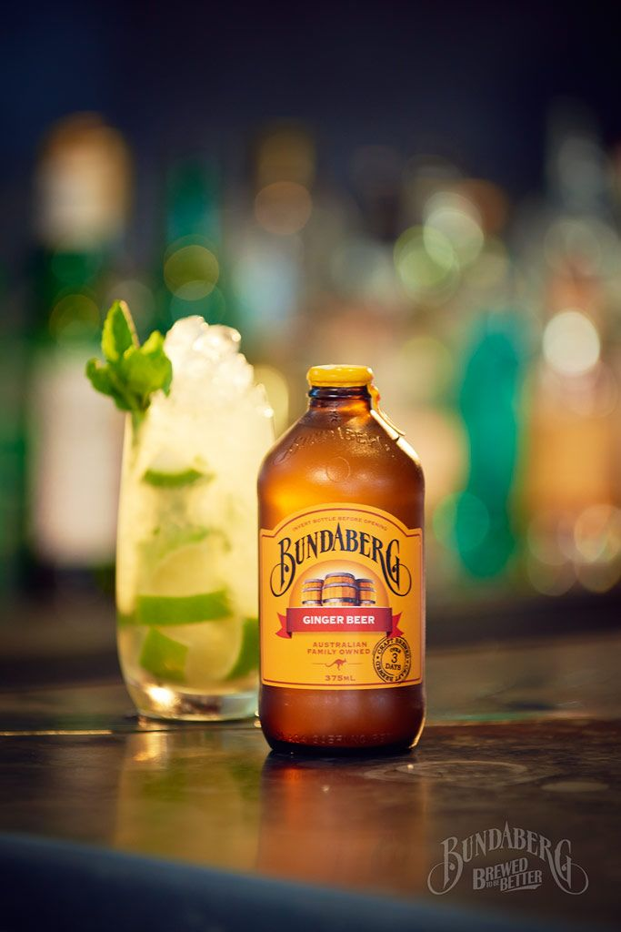 Try this delicious Bundaberg Brewed Drinks mocktail, Mimic Mule.