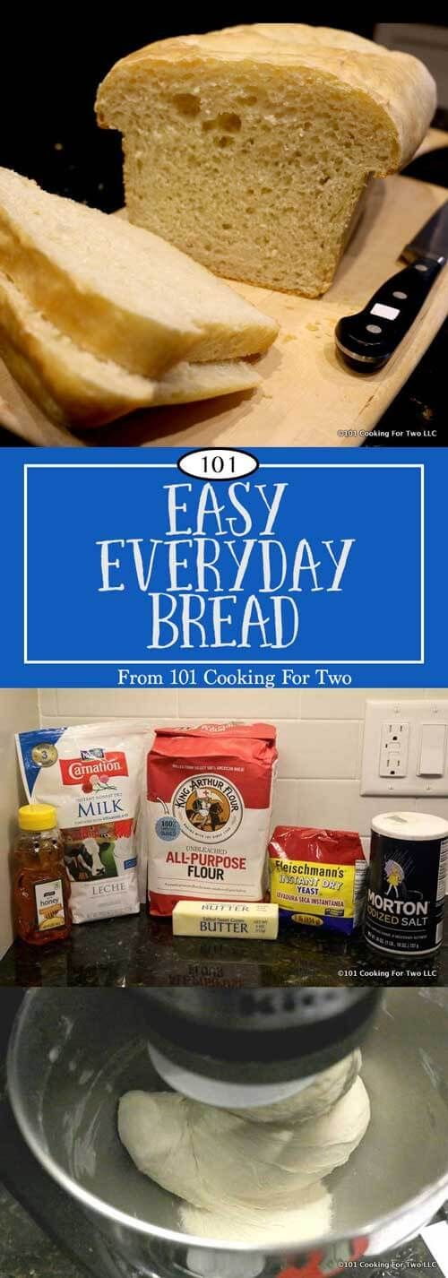 A great loaf that is easy to make in your stand mixer or even by hand. This everyday bread checks all the boxes and will become your daily bread. via @drdan101cft