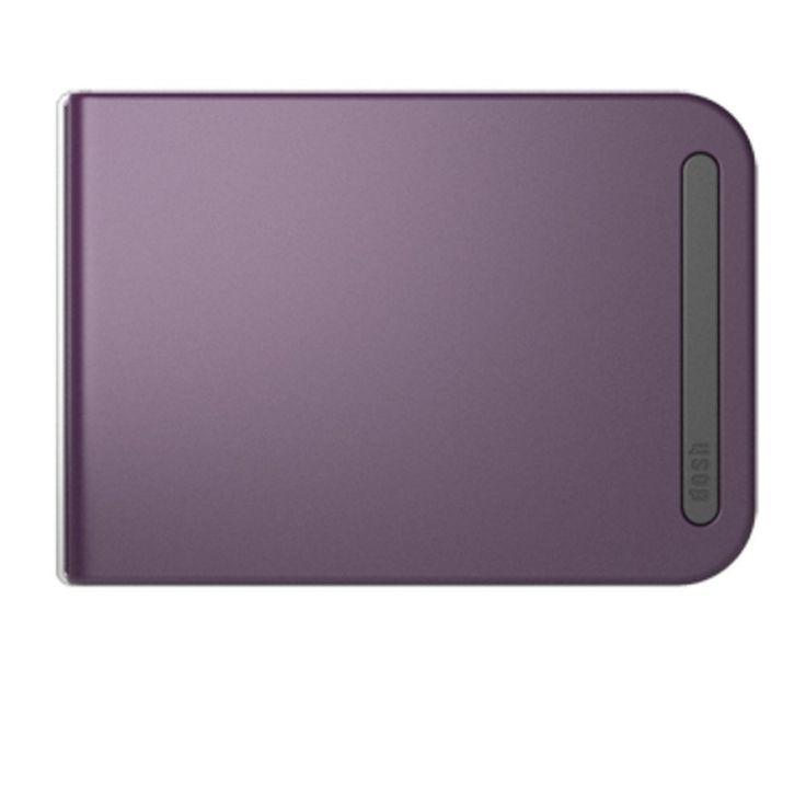 Dosh RFID Aero Wallet - Garnet: Amazon.fr: Bagages