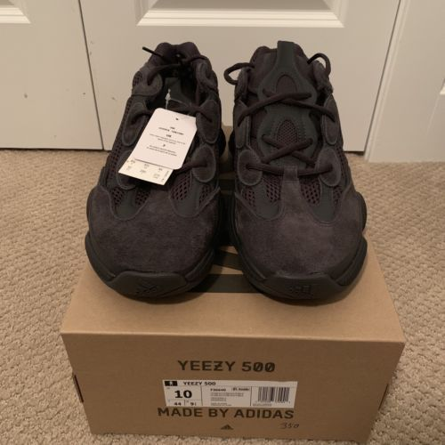 superior quality 4924a c4082 Details about Adidas Yeezy 500 Utility Black UK7 BNWT in ...