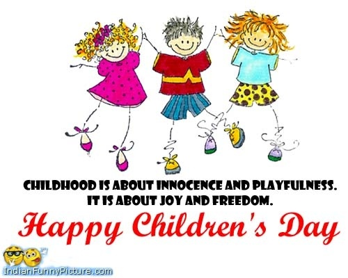 Happy Childrens Day Quotes in English  English quotes on Children day – childhood is about innocence and playfulness
