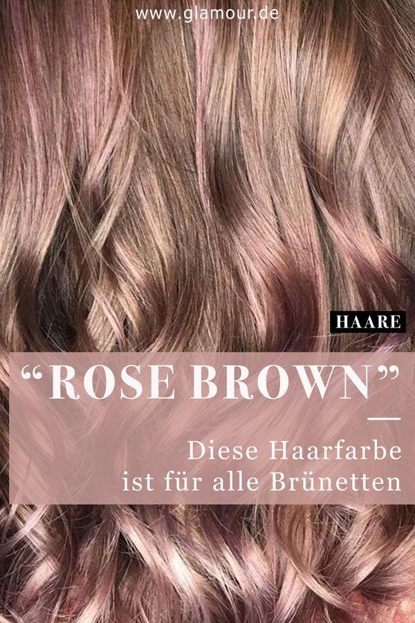 Rose Brown Hair Pastellrosa Fur Brunette Hellbraune Haarfarbe Braune Haare Mit Highlights Haarfarbe Braun
