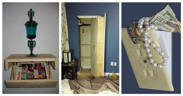 16 Secret Hiding Spots Even You'll Have A Hard Time Finding Again