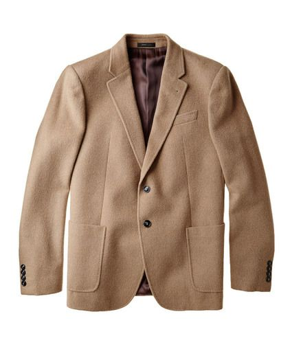 Unstructured Camel Jacket size 42 mens tall