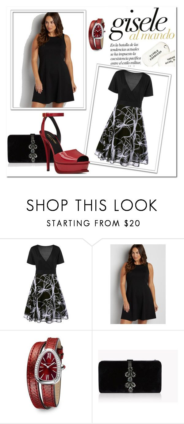 """ESTAMPADO"" by aguiar-pilutti on Polyvore featuring moda, maurices, Bulgari, Dsquared2 y Yves Saint Laurent"