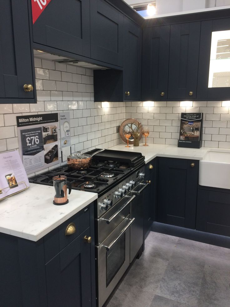 Wickes Milton Midnight Kitchen Inspiration In 2019